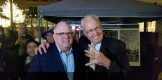 Larry Hogan and Robin Ficker